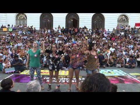 Brazilians commemorate Marielle Franco's murder a year on