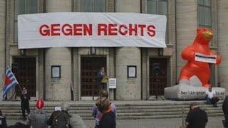 Protestas contra las restricciones con poca convocatoria en Alemania