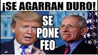 Ultimas noticias EEUU, ¡SE PONE FEO! TRUMP y FAUCI SE AGARRAN DURO 20/10/2020