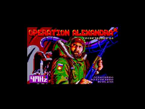 Operation Alexandra - Amstrad CPC Longplay