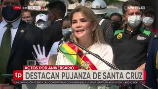 Autoridades participaron de actos oficiales y destacaron la pujanza de Santa Cruz