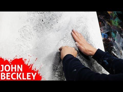 Comment faire une peinture abstraite - Démo | Héliotropes