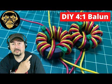 DIY 4:1 Balun Build for Ham Radio Antennas - Lid Tips