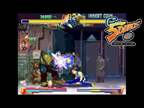 "STREET FIGHTER ZERO 2 HACK - ""CON 5 DUROS"" Episodio 629 (1cc) (CTR)"