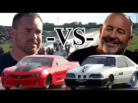 Street Outlaws Drag Racing - Chuck vs Ryan