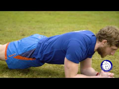Plank - Muddy Dog Challenge training exercises