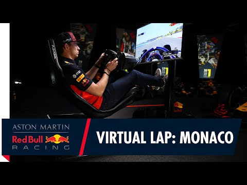 @Citrix Virtual Lap: Max Verstappen at the Monaco Grand Prix