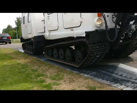 BV206 traction control system, first tests