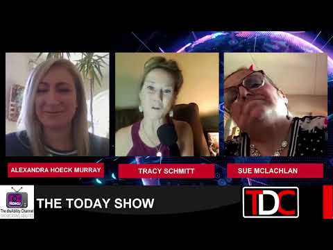 , TDC – Interviews Community Living Oakville's Alexandra Hoeck Murray, and a resident, Sue McLachlan, Wheelchair Accessible Homes