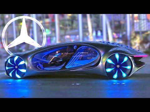 Mercedes-Benz Vision AVTR on the strip of Las Vegas