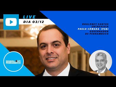 Entrevista com o governador Paulo Câmara