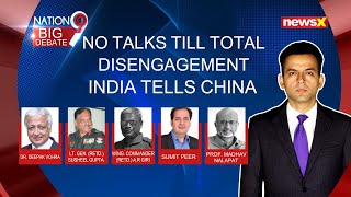 No talks till total disengagement | India tells China | NewsX - NEWSXLIVE