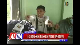 Extranjeros ilegales reaccionaron ante controles de la policía