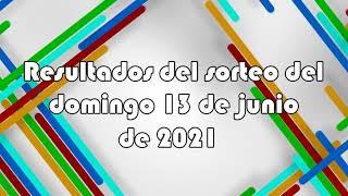 Lotería de Panamá - Resultados del sorteo del domingo 13 de junio de 2021