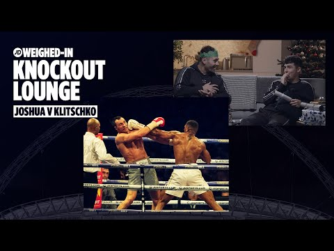 jdsports.co.uk & JD Sports Voucher Code video: DAVE ALLEN, JOE WELLER, GRIME GRAN, SIDEMAN AND SPECS WATCH ANTHONY JOSHUA VS WLADIMIR KLITSCHKO