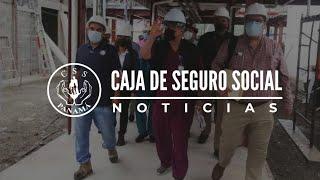 Director General de la CSS recorre construcción del Hospital Dionisio Arrocha