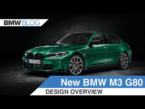 2021 BMW M3 G80 – It's More Than Just The Grille