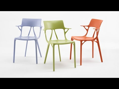 "Philippe Starck creates ""world's first chair designed with artificial intelligence"" 