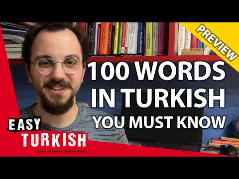 100 words you must know in Turkish (PREVIEW)   Super Easy Turkish 8 photo