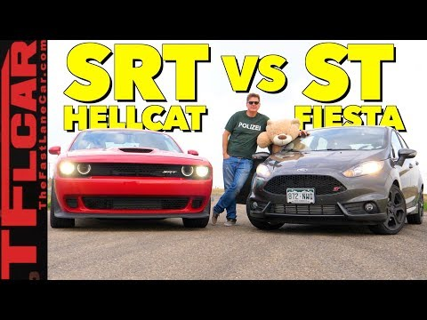Gameshow: Is a Dodge Hellcat Faster than a Hot Hatch? Ep.7