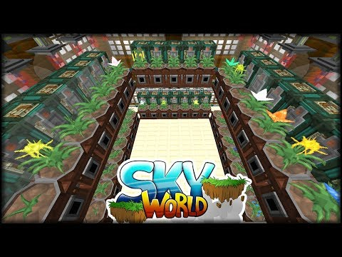 connectYoutube - Garden Gloches Optimaler Aufbau *VOLL VIELE* | Minecraft SkyWorld #36 | Minecraft Modpack