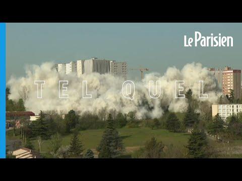 Explosion de la barre HLM Monmousseau près de Lyon