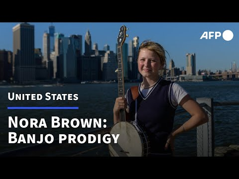 Nora Brown, the banjo prodigy singing tales of Appalachia | AFP