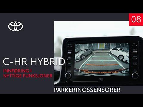 Toyota C-HR Hybrid 2020 - Parkeringssensorer / assistent (8 av 10) - Innføring i nyttige funksjoner