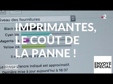Nouvel Ordre Mondial - Envoyé spécial. Imprimantes : le coût de la panne ! - 28 février 2019 (France 2)