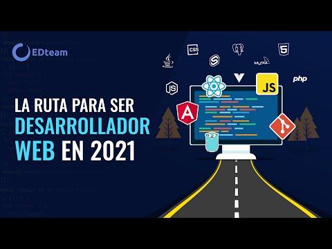 La ruta para ser desarrollador web profesional en 2021 🤩