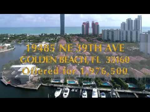 Alexander Goldstein presents 19485 NE 39th Ave, Golden Beach, FL