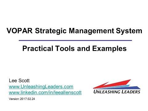 GTI2017 Sn25a: VOPAR Strategic Management - Unleashing Leaders