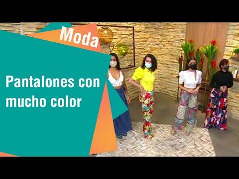 Pantalones con mucho color | Moda