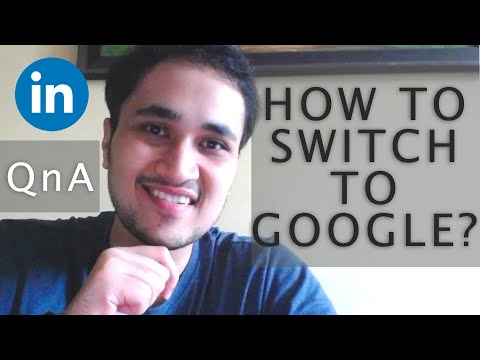 How to switch from Service Based Companies to Google/Microsoft || LinkedIn QnA session