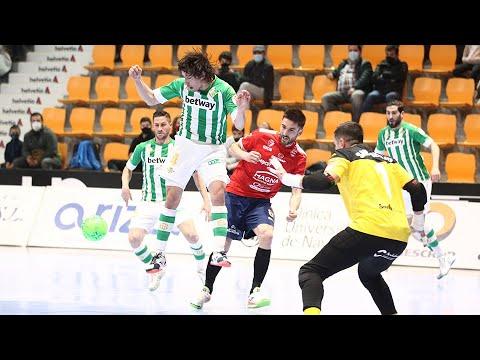 Osasuna Magna Xota - Real Betis Futsal Jornada 22 Temp 20-21