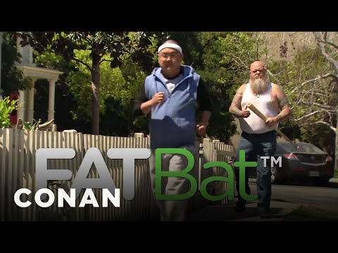 connectYoutube - Meet Your Fitness Goals With FatBat  - CONAN on TBS