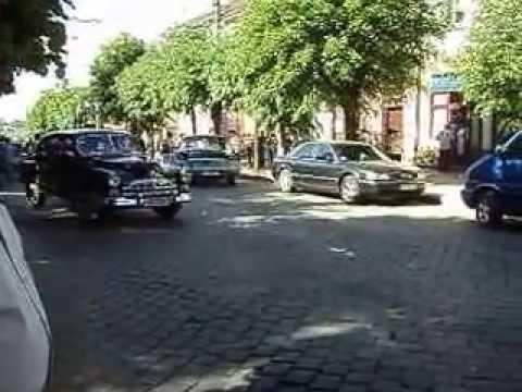 Автопробіг в Чернівцях