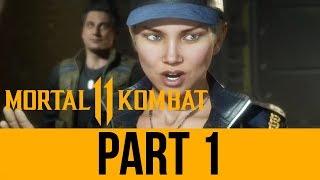 MORTAL KOMBAT 11 STORY Gameplay Walkthrough Part 1 - Chapter 1 & 2 (Full Game) MK11