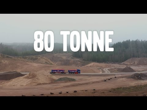 Volvo Trucks ? Carry more to cut time & fuel costs ? Braås Volvo FH16 carry loads up to 80 tonnes