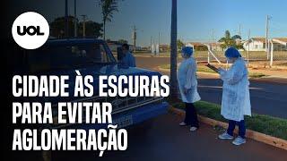 Prefeito de Guarani d'Oeste (SP) apaga postes de iluminação para evitar aglomerações