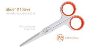 Slice 10544 Ceramic Scissors at Safetykart.com