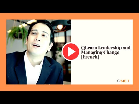 qLearn Leading and Managing Change [French]