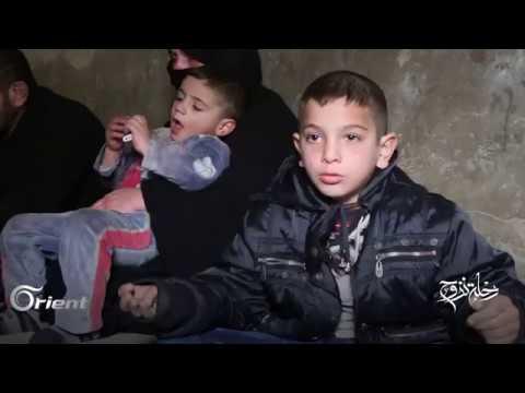 قصص تهجير من حي الوعر إلى مدينة الباب وسيدة مغربية نازحة في سورية - رحلة نزوح