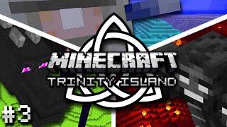 Minecraft: Trinity Island Hardcore Survival Ep. 3 - DEATH STRIKES