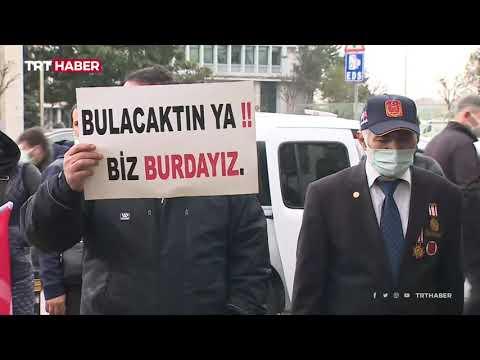 Şehit yakını ve gazilerden İmamoğlu'na protesto