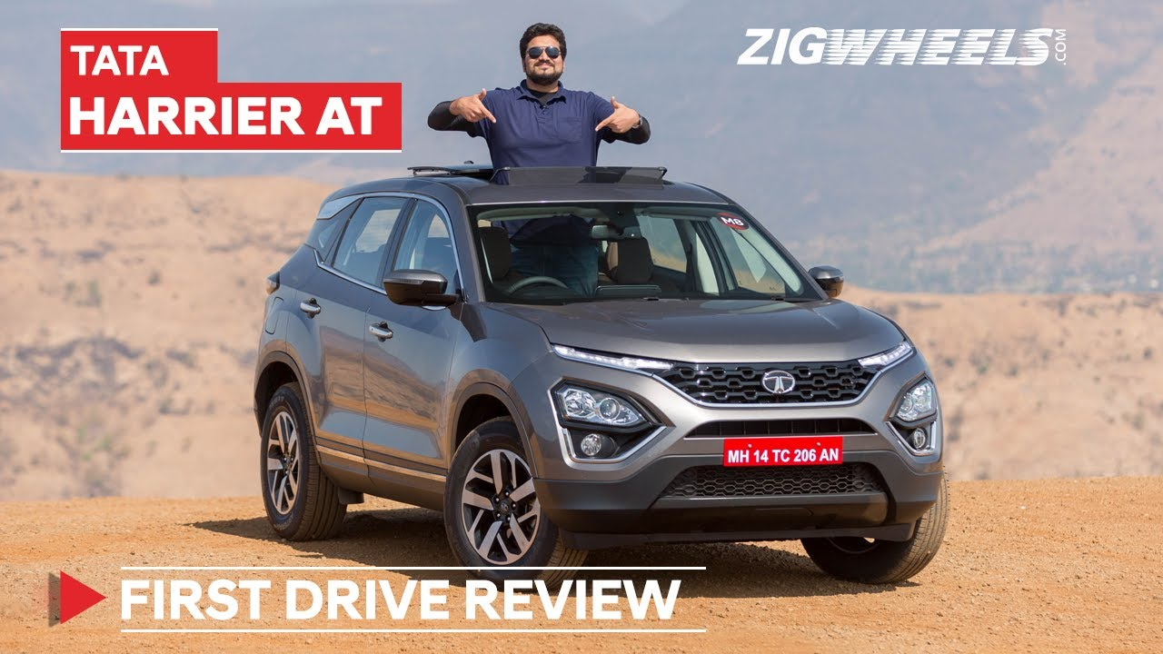 Tata Harrier 2020 Automatic Review: Your Questions Answered!   Zigwheels.com