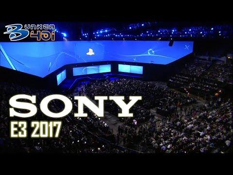 Conferencia Sony E3 2017 : Sony Streaming comentado en directo   Retro