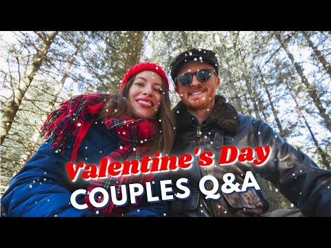 Our VALENTINE'S DAY Date + Where we got MARRIED! 💕 | Couples Q&A + Forest Dance Party in Canada 🌲🎵