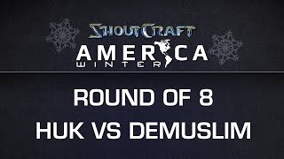 ShoutCraft America Winter - RO8 - EG.DeMusliM vs. EG.HuK - BO5