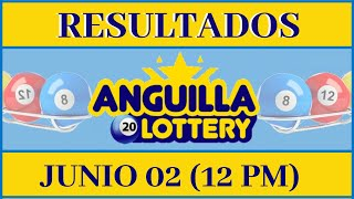 Anguilla Lottery Quiniela 12 PM Resultados de Hoy 02 de Junio del 2020   Todas Las Loterías Dominica